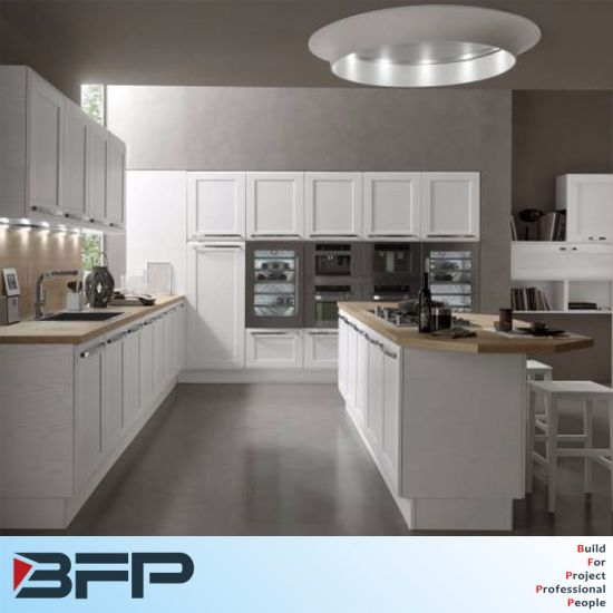 Customized Best Material PVC Modular Wooden Kitchen