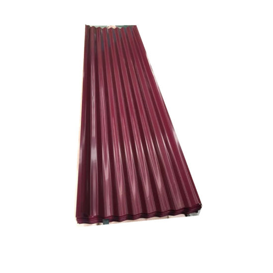 PPGI PPGL Steel Corrugated Metal Roofing Sheet in Ghana
