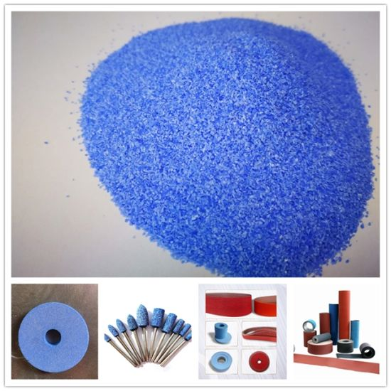 High Quality Ceramic Grain Abrasive Blue Corundum with Competitive Price pictures & photos