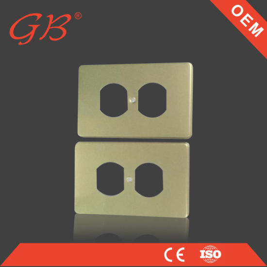 China Wholesale Wall Switch Board Switch Cover Plate Metal Switch