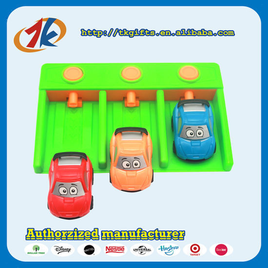 New Product Launcher Mini Plastic Toy Cars Set