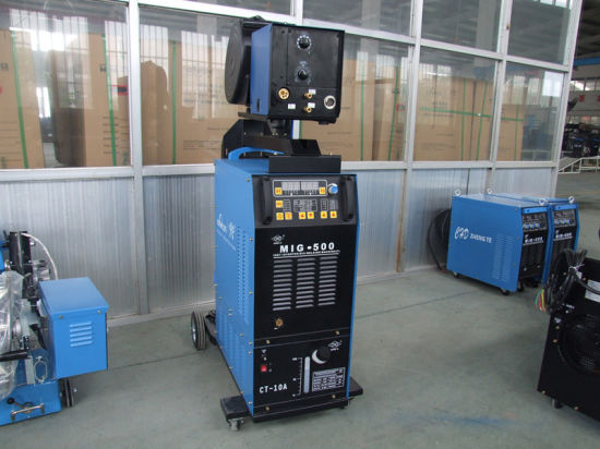 MIG/ TIG Digital Welding Machine Double-Pulse MIG/TIG Welding IGBT Welding pictures & photos