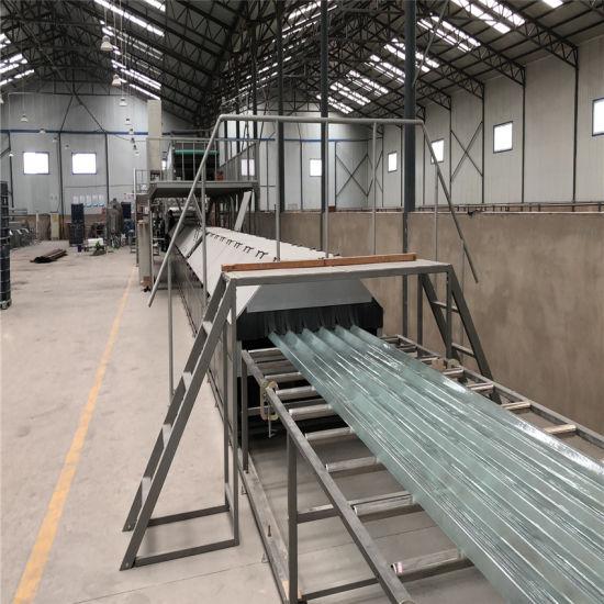 FRP Fiberglass Plain and Corrugated Sheet Making Machine