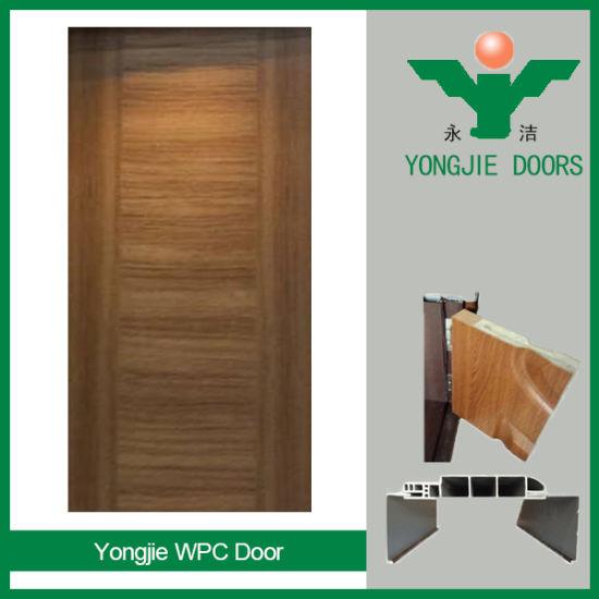 China Interior Waterproof Good Quality Wood Plastic Composite Door ...