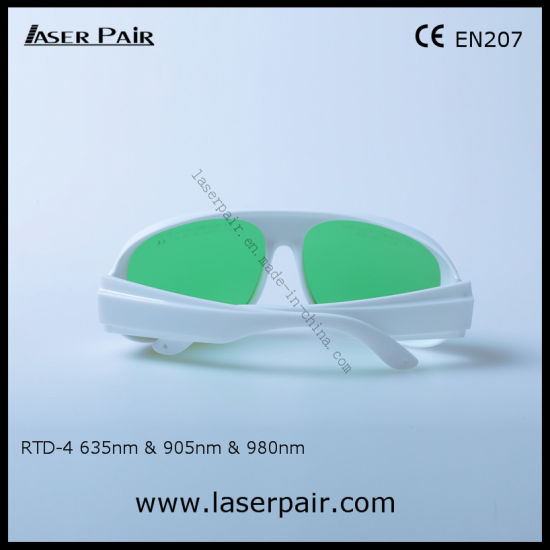 d43ebd82f4 Visible Light Transmittance 37% of Laser Safety Goggles for 635nm Red Lasers  905nm   980nm Diodes Lasers with White Frame 52. Get Latest Price