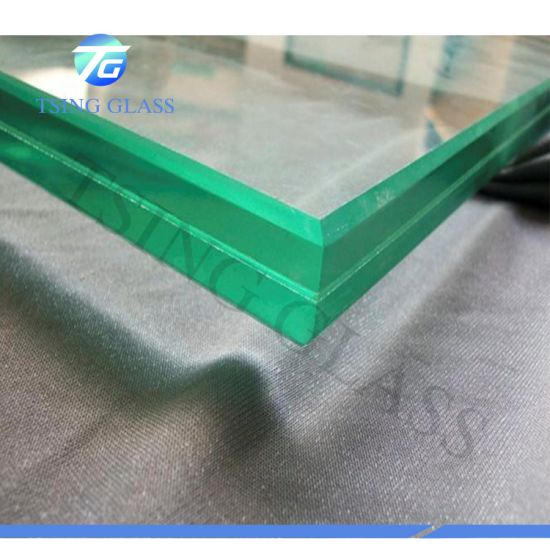 6.38-42.38mm Safety Clear Tinted Tempered / Window / Door Glass / Laminated Glass with PVB Film