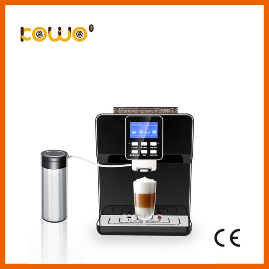 19 Bar Fully Automatic Electric Coffee Maker for Cappuccino/Latte/Espresso