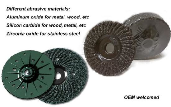 Plastic Backing Grinding Disc Wheel for Concrete, etc pictures & photos