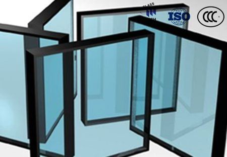 Triple Silver Low-E Glass Insulated Glass Used for Energy Saving Buildings