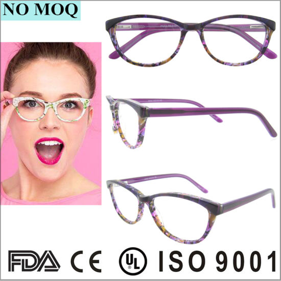 87e49a4174b7 Hot Selling Fashion Women Acetate Optical Frame Colorful Eyewear pictures &  photos