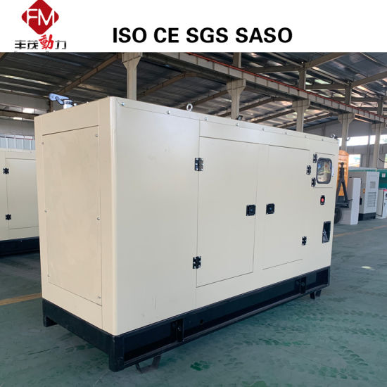 China Silent Diesel Generator 10kw to 1000kw Powered by
