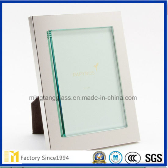 2.0mm Photo Frame Glass, Clear Sheet Glass with Customized Size