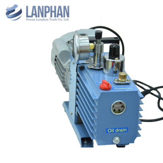 China High Pressure Mini Oil Silent Rotary Vane Lab Vacuum
