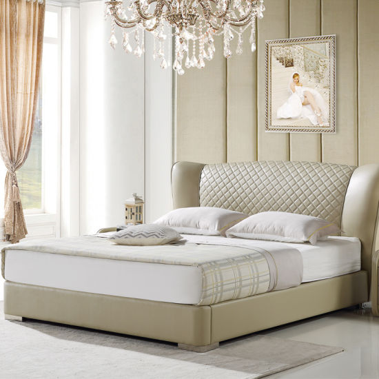Modern New Design Bed for Bedroom Use (FB2102) pictures & photos