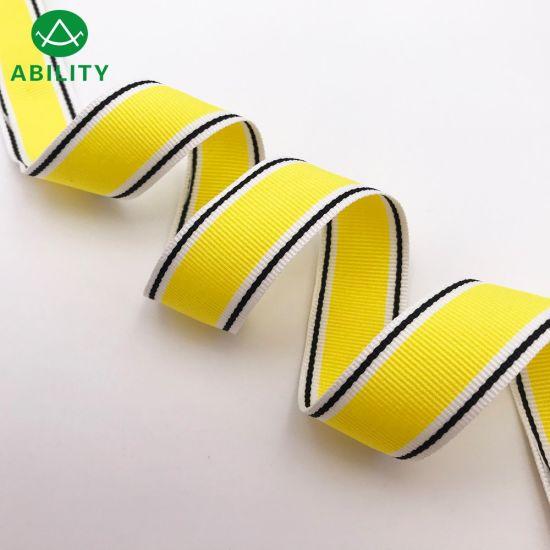 100% Polyester Nylon Popular Grosgain Ribbon Webbing Tape