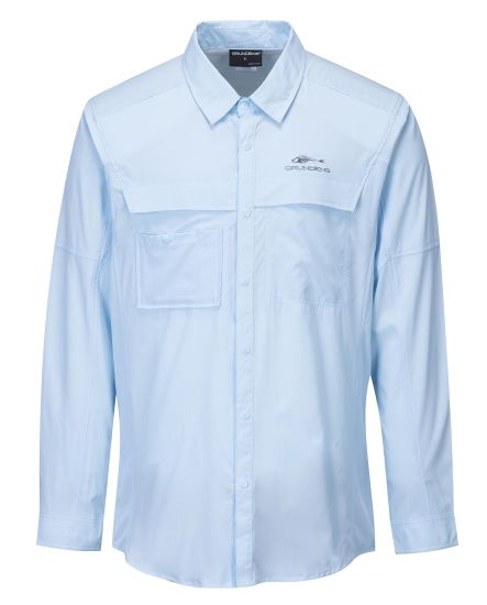 Men's Long Sleeve Quick Dry Fishing Shirt UV Protection Upf 50