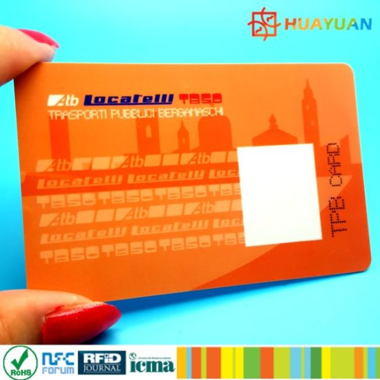 Variable Data Printing Fudan FM32 Smart Card pictures & photos