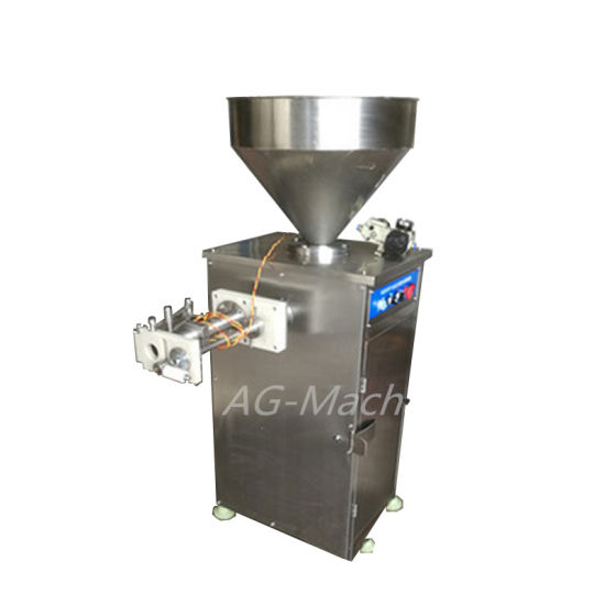 Vacuum Pneumatic Twisting Vertical Automatic Commerical Electric Sausage Making Machine