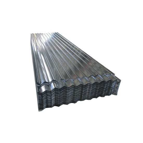 Z275 24 Gauge Hot DIP Gi Galvanized Corrugated Roofing Sheet