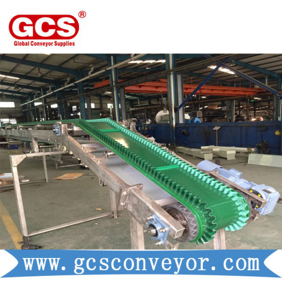 PVC Belt Conveyor /Large Angle PVC Belt Conveyor