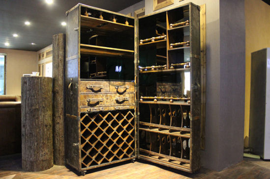 Vintage Wine Cabinet Furniture Design pictures & photos
