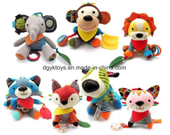 Hnaging Plush Animal Toy for Baby