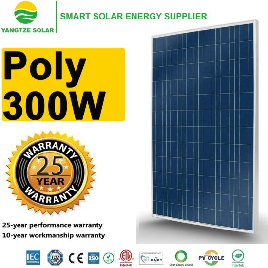 300W Roof Solar Power Panel Manufacturers in China