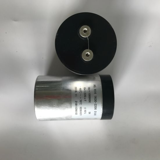 High Power 1000V 220UF Film Bus Link Capacitor for Inverter