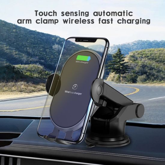 Top Selling Smartphone Car Holder Mobile Stand Wireless Charger Car Phone Holder