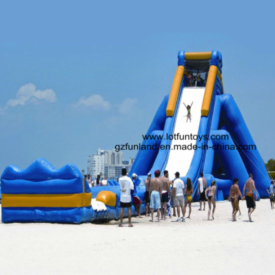 Giant Inflatable Bouncy Water Slide, Largest Bouncer Slide pictures & photos