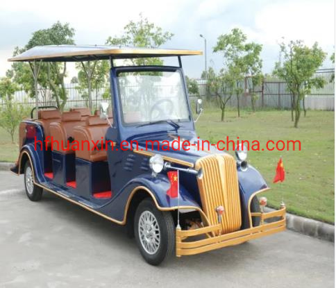 Battery Operated 8 Seaters Electric Classic Cars Hot Selling 8 Seaters Electric Hunting Buggy for Sale pictures & photos