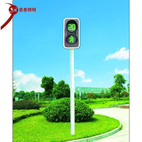 Smart Traffic Light System for Parking Solar Warning Traffic Light