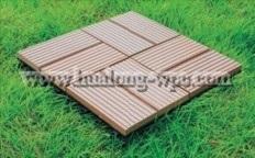 Wood Plastic Composite Decking Tile for Outdoor (DIY-2)
