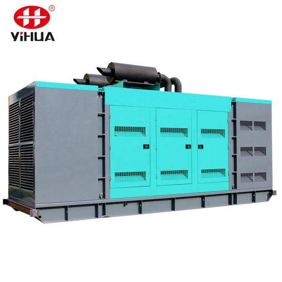 800kVA 640kw Silent Heavy Duty Diesel Generator Powered with UK Engine 4006-23tag3a