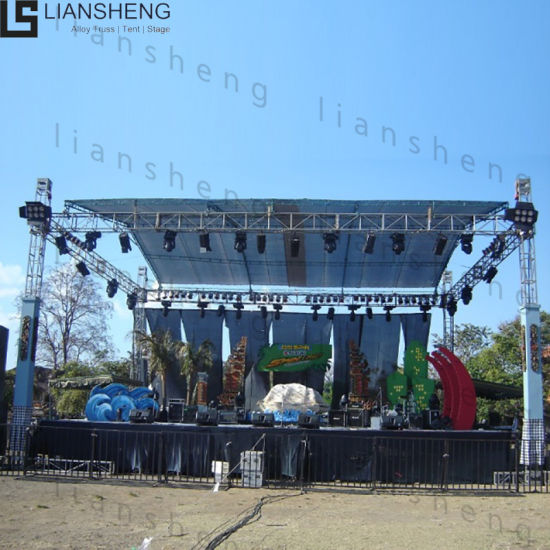 Customizable Aluminum Frame Truss Structure and Stage Lights Exhibition Truss