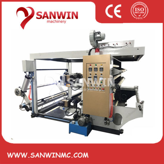 High Speed Two Color Paper Printing Machine