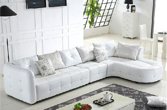Modern Italian Leather Sofa Manufacturer Foshan Gbg Furniture F239