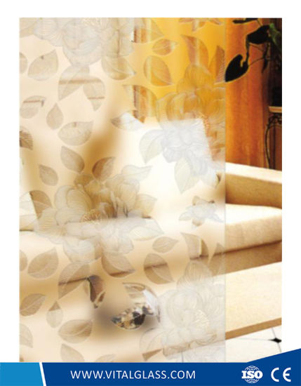 China 4-6mm Acid Etched Art Glass for Decorative Wall Glass - China ...