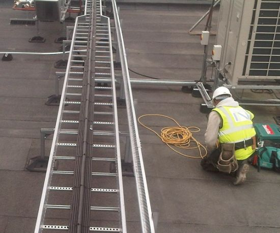 DURAFOOT STEEL FRAMING SUPPORT SYSTEMS for Rooftop Services, Access Walkways, Temporary Fencing, Solar Installations, HVAC & Air Conditioning Units pictures & photos