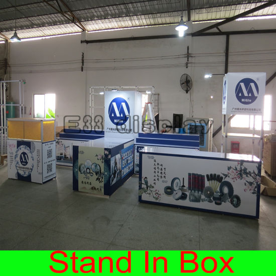 High Quality Custom DIY Portable Trade Show Display System Expo Stand 3X6 Size Exhibition