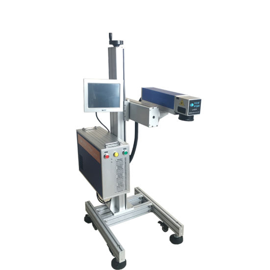 Fiber Laser Machine /Fiber Laser Marking Engraving Machine/30W Laser Printer for PVC Pipe/Aluminium Product/Metallic Products