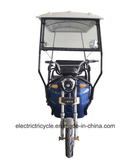 Hot Sale Electric Three Wheel Tricycle Adult with Roof pictures & photos