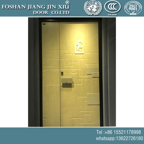 Golden Color Stainless Steel Security Door pictures & photos