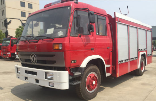 Brand New 4X2 Mini 150-250HP Fire Fighting Truck with Water and Foam Tank 1500 Gallons pictures & photos