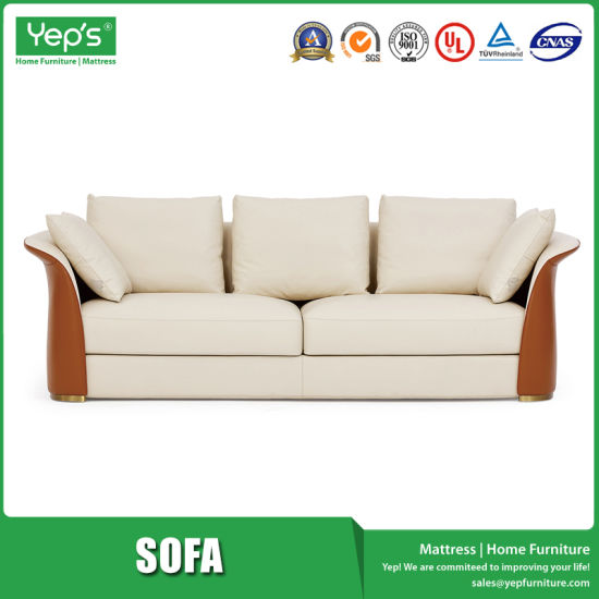 Color Matching Design Modern Simple Style Love Seater Sofa Set