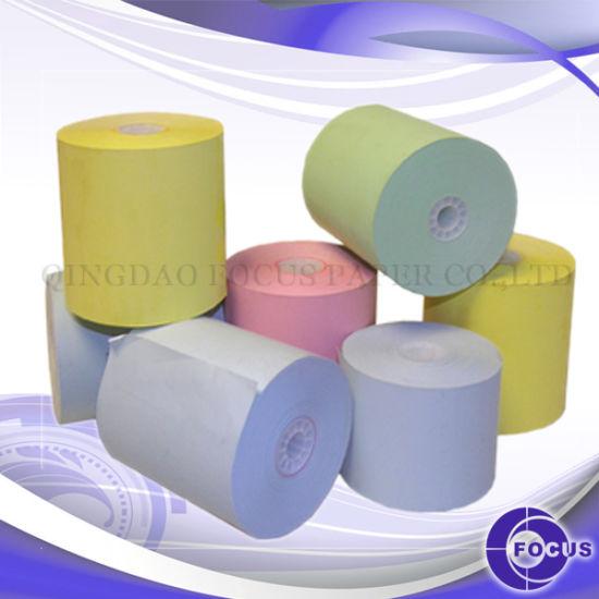 Focus Brand Carbonless Paper, NCR Paper, Jumbo Reel, CB, CFB, CF Color Paper, Tinted Paper
