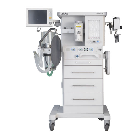 Aeon8300 Multi-Function Medical Machine Workstation Pneumatically Driven and Electronically Controlled Anesthesia Machine with Ce pictures & photos