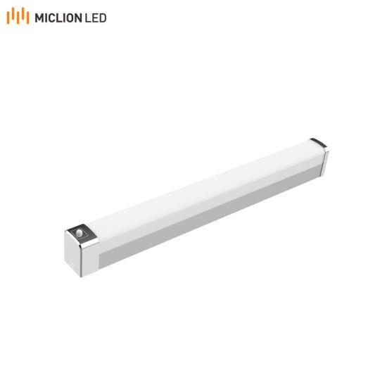 Amazon Hot IP44 Aluminium Mirror Light with PIR Sensor for Toilet Washroom Bathroom