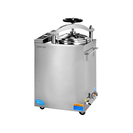100L Fully Automatic Microcomputer Vertical Pressure Steam Sterilizer