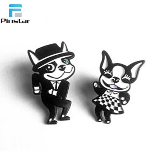 Dog Birthday Present Hard Enamel Pin For Lover Pictures Photos